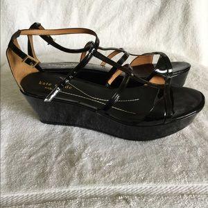 Kate Spade black Women's patent leather size 8.5 M
